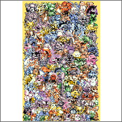 epic pokemon free cross stitch pattern