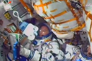 r2d2 in space soyuz launch credit starspace