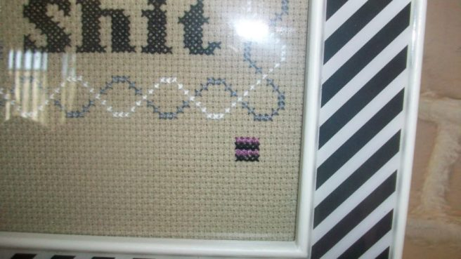 Cross stitch signature by Whatever James (source: whateverjamesinstitches.blogspot.com)