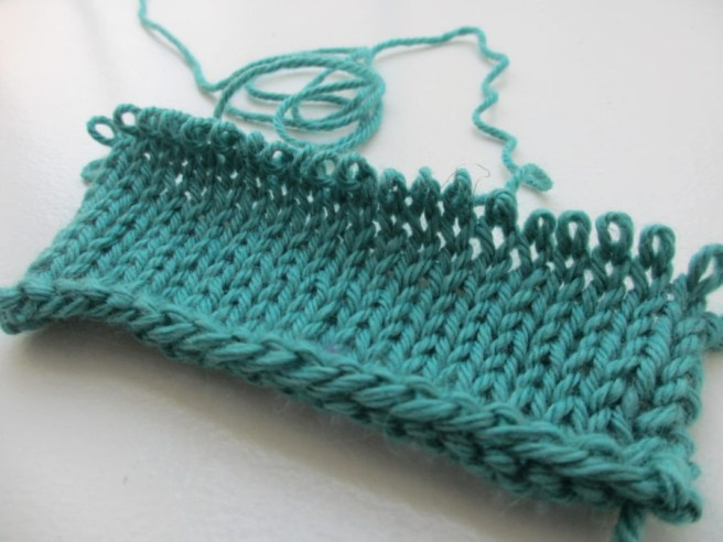 knitting frogging