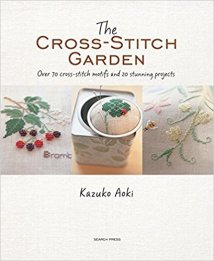 the cross stitch garden book cover