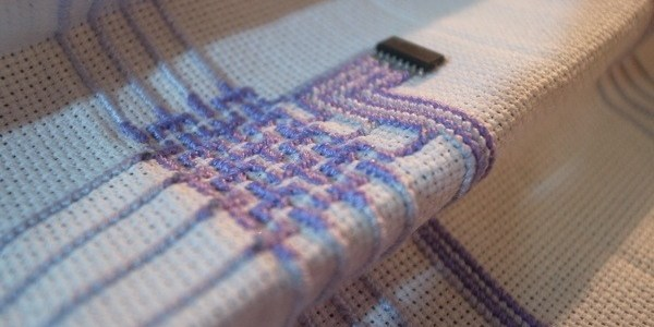 Technology and cross stitch by Wei Chieh Shih (source: shihweichieh.com)