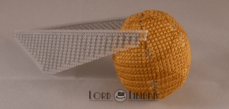 Harry Potter Golden Snitch Cross Stitch by Lord Libidan