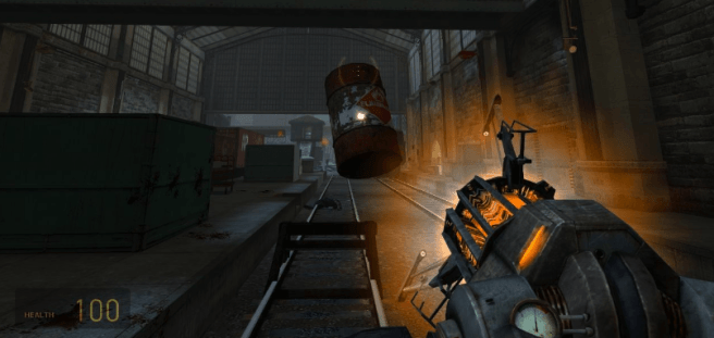 Half Life 2 Gravity Gun Screenshot (source: mobygames.com)
