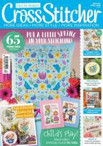 Cross Stitcher Magazine Issue 342 featuring Lord Libidan (Source: crossstitchermag.co.uk)