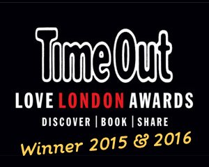 Love London Awards Winner 2015 & 2016