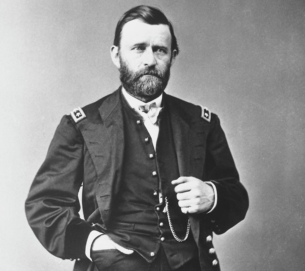 Ulysses S Grant A Drunken Fighting Machine From American