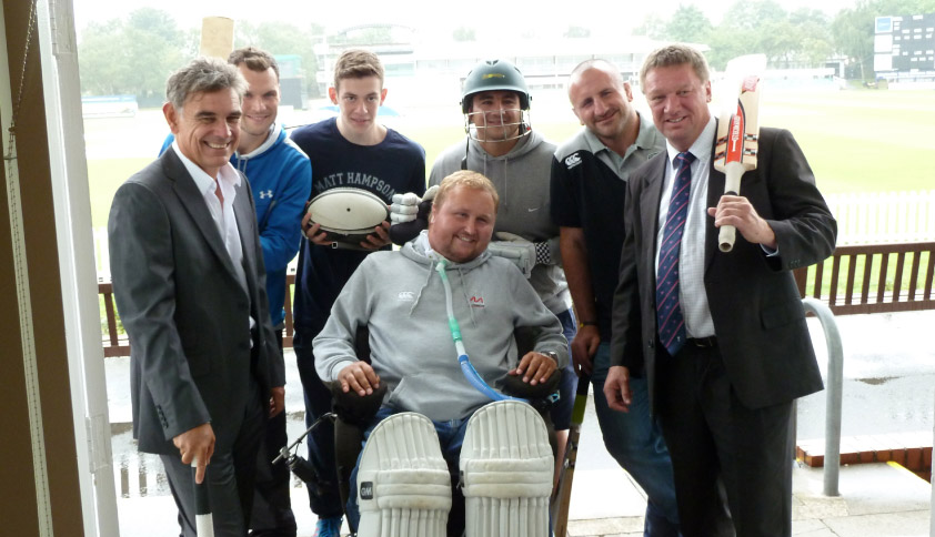 Matt-Hampson-Lords-Taverners-Cricket-Fund-Raiser-September-2014