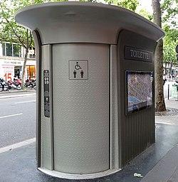 Sanisette Parijs