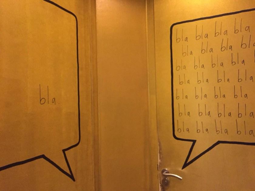 Toilet aanwijzing