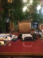 werkkamer Leoluca Orlando