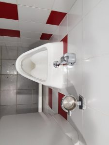 Asbak op de wc