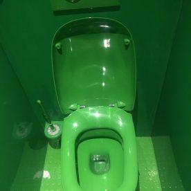 Groene wc