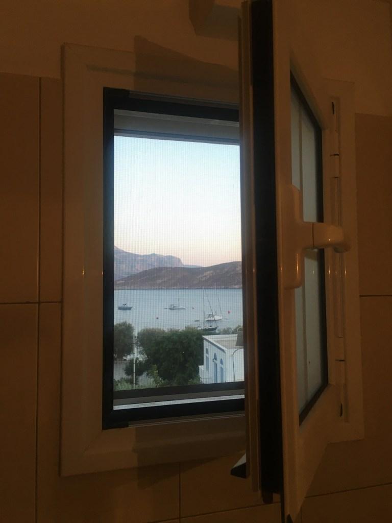 Uitzicht op Grieks eiland