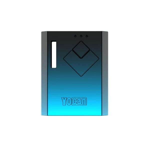 Yocan Wit battery box mod in balck blue gradient