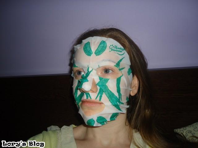 masca-cu-aloe-vera-si-ceai-verde-7th-heaven-aplicata
