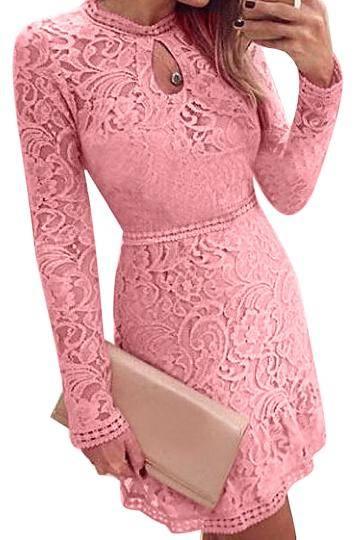 rochie-roz-dantela-yoins