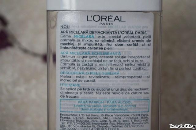 review-micelara-echilibranta-loreal-descriere