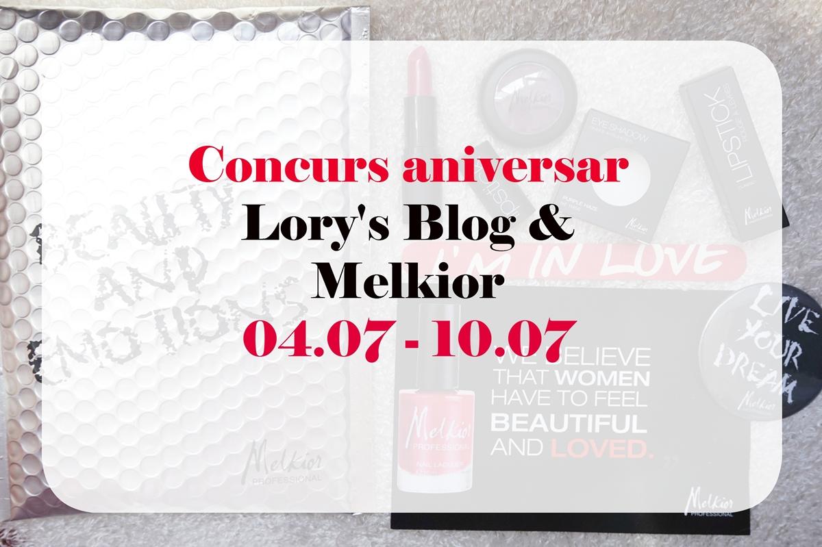 Concurs aniversar cu produse Melkior – INCHEIAT