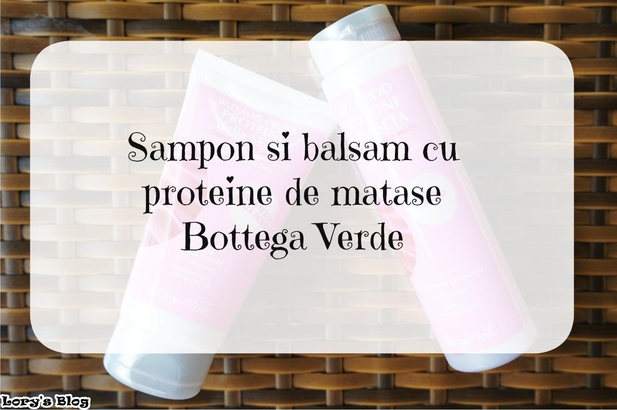 Îngrijirea părului cu proteine de mătase de la Bottega Verde