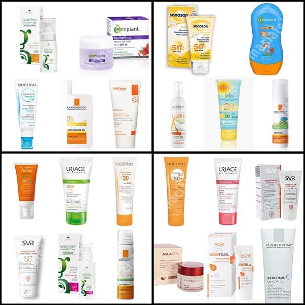 Recomandări de produse cu factor de protecție