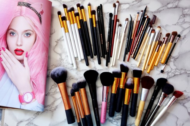 My brushes collection