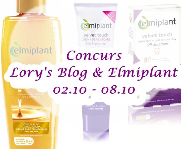 Concurs: Lory's Blog & Elmiplant – ÎNCHEIAT