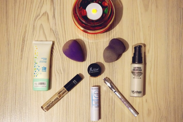 ianuarie empties - makeup products