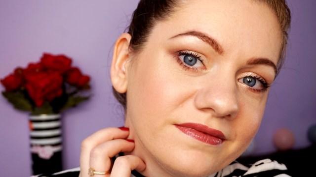 my makeup using Gerovital Beauty