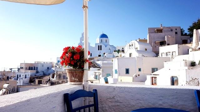 cafenea in labirintul din Pyrgos