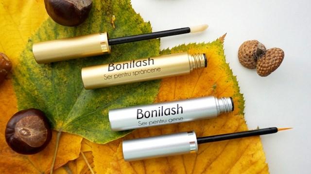 Bonilash - seruri pentru gene si sprancene - aplicare