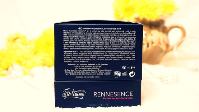 description magnetic mask Rennesence Biotissima