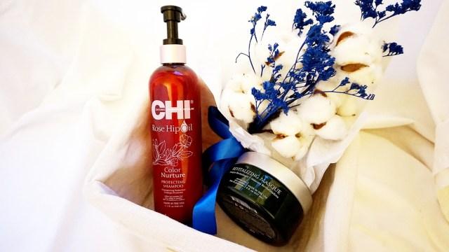 ingrijirea parului blond cu produse profesionale CHI
