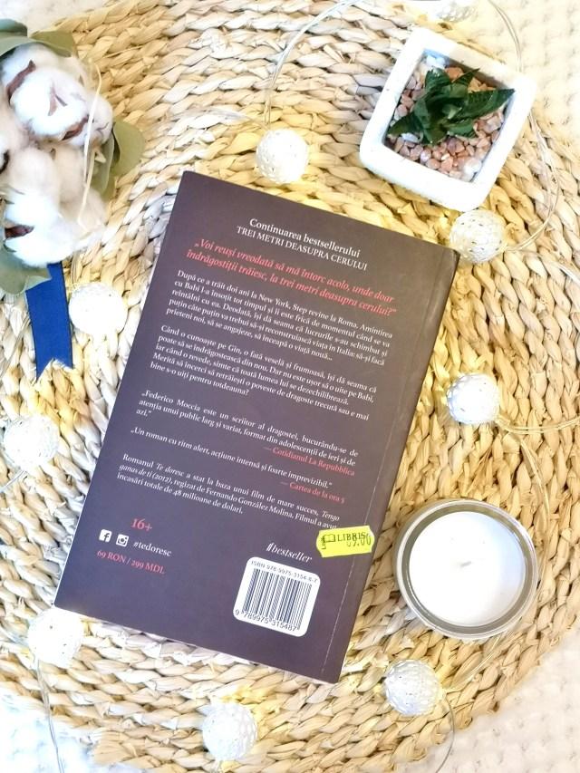 Recenzie carte  Te doresc de Federico Moccia