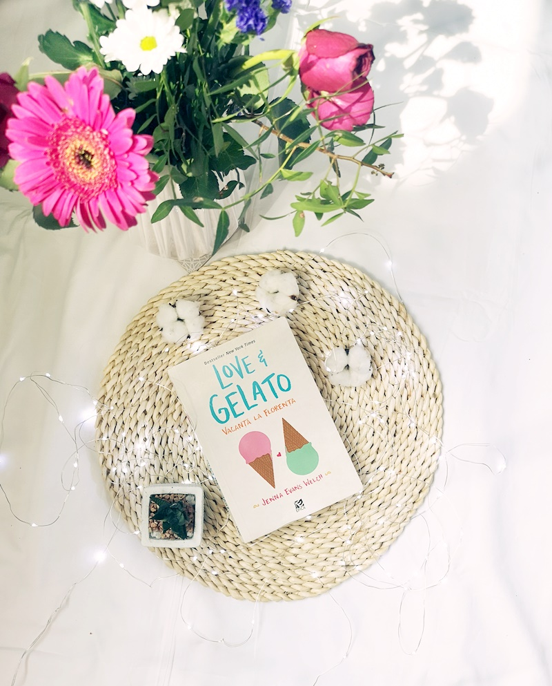 recenzie carte - love and gelato - Jenna Evans Welch