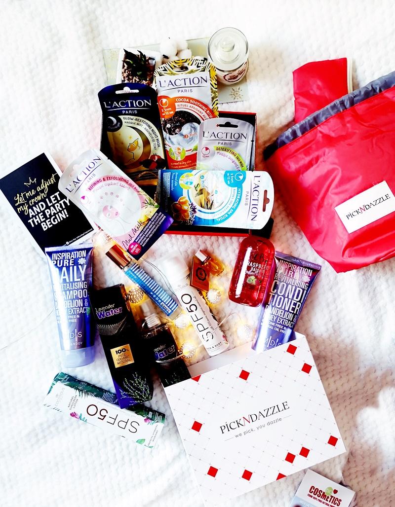 Unboxing beauty box Pick N Dazzle iunie