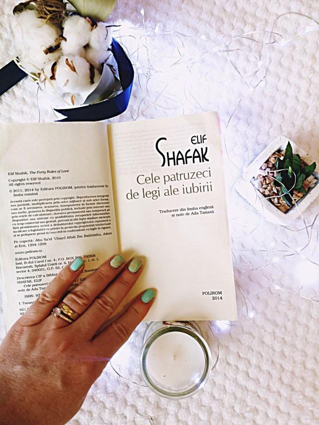 Cele patruzeci de legi ale iubirii de Elif Shafak-recenzie carte