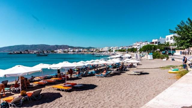 Charaki Beach in Rodos, Greece
