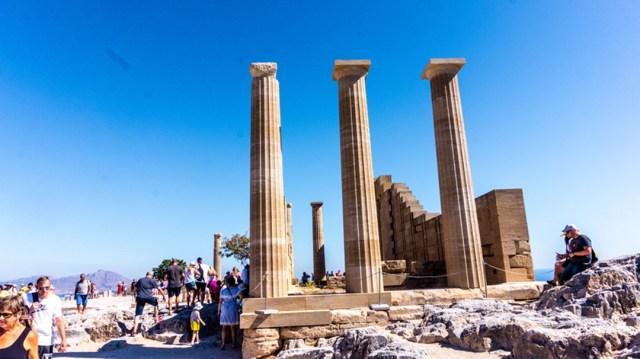 Acropolis - Lindos, Rodos Island, Greece
