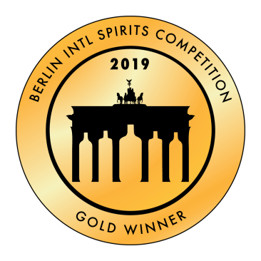 GOLD bei den BERLIN International Spirits Competition für LOREDRY GIN