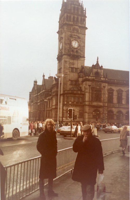 Steve Clark Sheffield City Center 1985