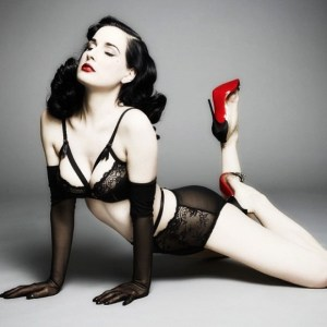 Dita Von Teese The archangel of the Romantic Fashion Icon Archetype™
