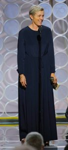 Frances McDormand Angel in Blue