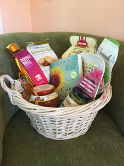 Gaining Visiblity- Italian Themed Basket