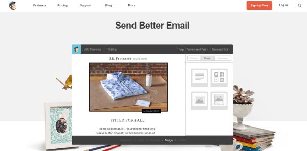 mail chimp email marketing