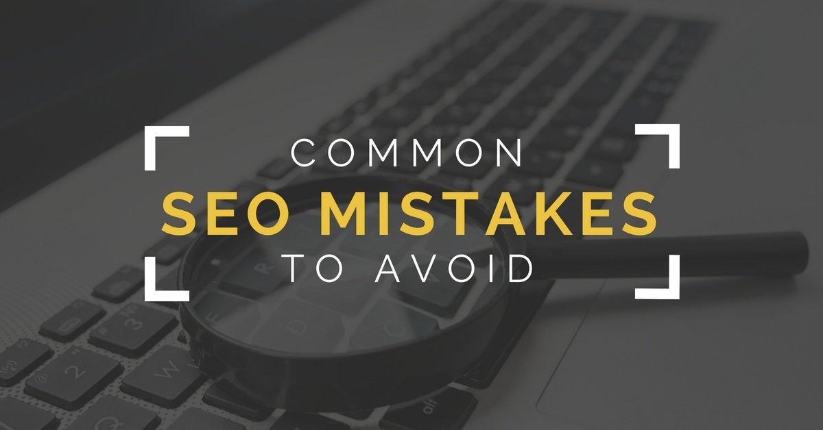 5 SEO Mistakes to Avoid - Computer keyboard