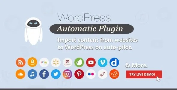 WordPress Automatic Plugin auction plugin  - Best Auction Plugin For WordPress in 2021