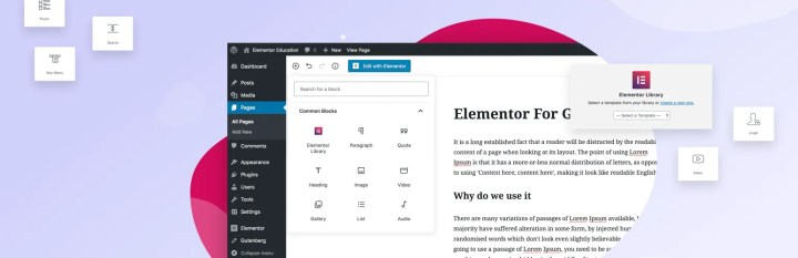 Gutenberg & Elementor Templates - WordPress - Lorelei Web
