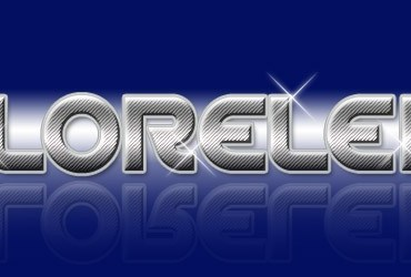 Awesome Text Effect With Sparkles 80's Disco Style - text effect Lorelei Web Design