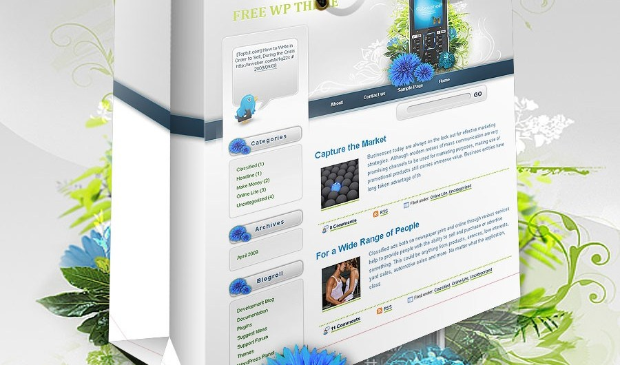 43 Free Wordpress Themes that Look Totally Premium - Blog Lorelei Web Design